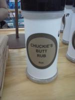 Chukies Butt Rubb
