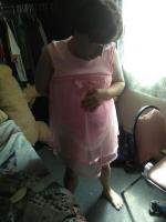 Pink tutu onesie and diaper
